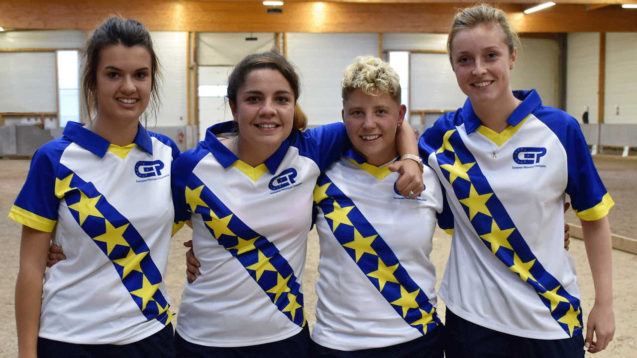 Espoirs Women Champions 2018 - France